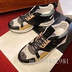 Primavera / verano 2020 zapatos casuales alemanes diseñador de la marca de los hombres de los PP, suelas de goma de cuero, hombres w001