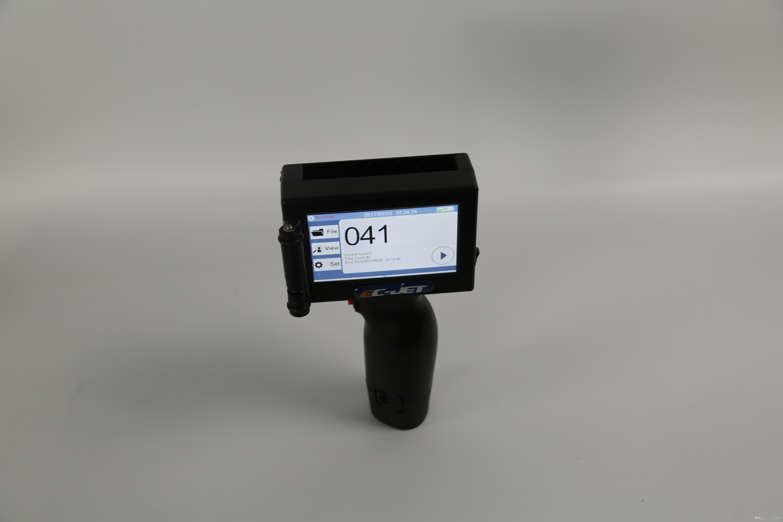 Imprimante de codage à jet d'encre de haute résolution pour ordinateur portable de poche portable haute résolution automatique de haute qualité pour l'impression de produits industriels (ECH200)