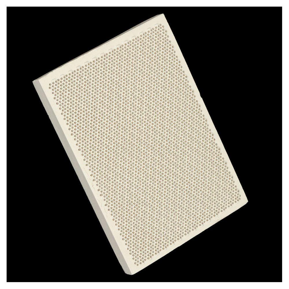 Céramique Conseil Honeycomb souder chauffage pour gaz Poêle tête 135x95x13mm Nouveau