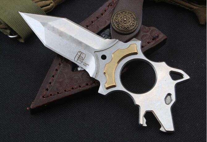 dom auto deferência Todd begg mão facada espinho impulso faca AUS-10 Handle lâmina Camping tático faca EDC Facas natal para o homem