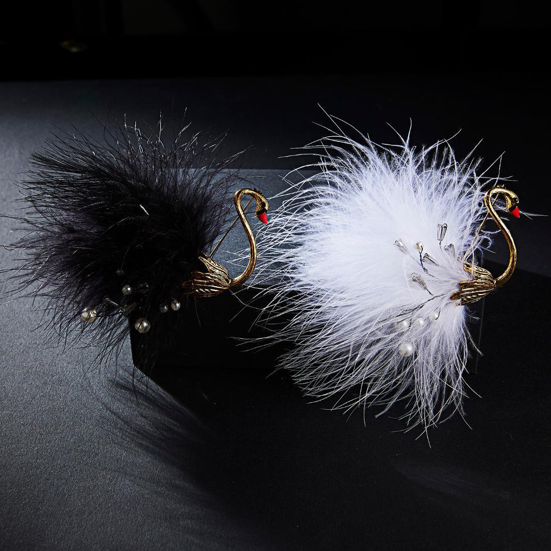 2019 새로운 귀여운 동물 브로치 핀 매력 시뮬레이션 진주 브로치를 들어 여성 한국어 크리스탈 연인 귀여운 옷깃 쥬얼리 선물 Belleper