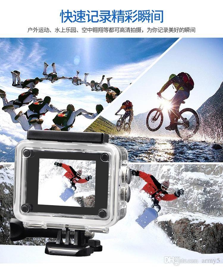 أسلوب SJ4000 A9 2 بوصة شاشة LCD كاميرا كامل 1080p HD العمل 30M للماء كاميرات خوذة الرياضة البسيطة DV DVR السيارة الساخن بيع