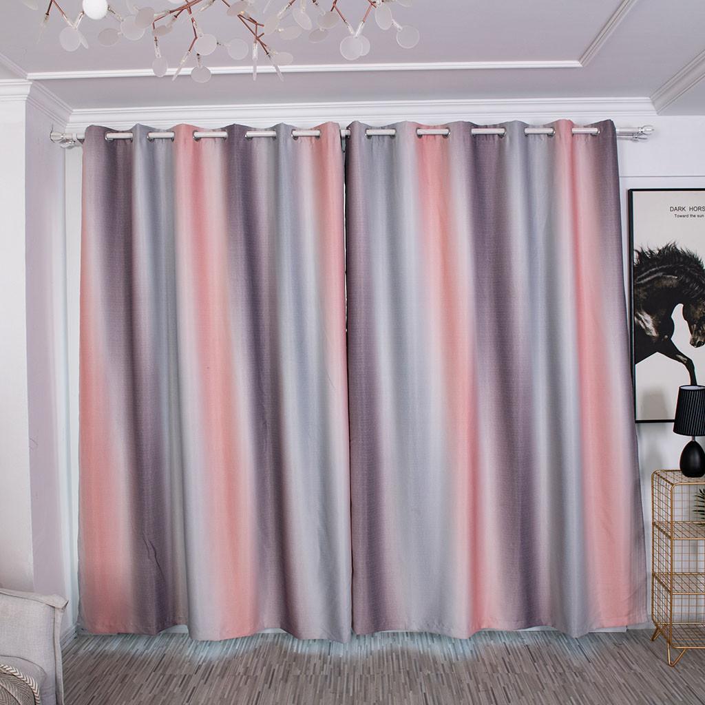 Ouneed banda di pendenza tende oscuranti Biancheria per la casa moderna in poliestere 100x250cm finestra tende per il salone JULY9 rideaux