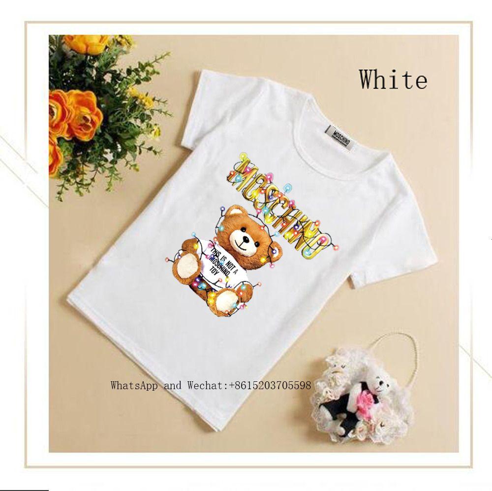 Летняя одежда Дети с коротким рукавом милых футболок студент Половина Личность Малого Jacket 010501