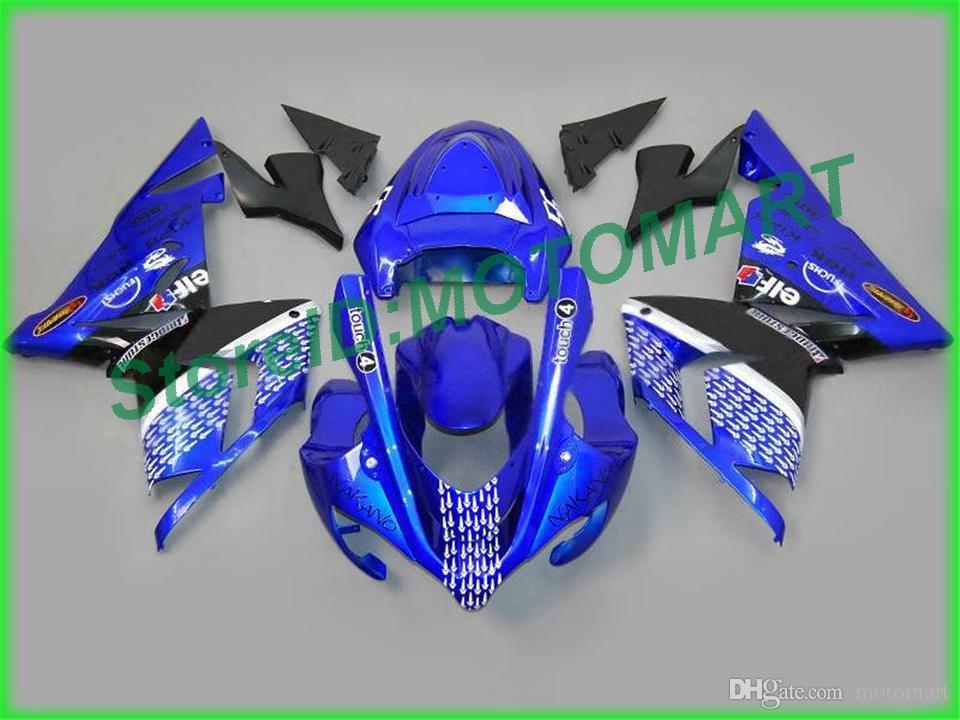 Corpo Kawasaki Ninja ZX 10 R ZX10R 04 05 ZX 10R ZX1000 C ZX1000C 04 ZX10R 2004 2005 carenatura KA18