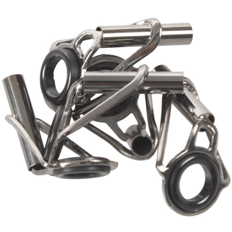 5pcs 5mm Innendurchmesser Angelrute Ring der Augen blind Tip Ersatzteil 2.8mm