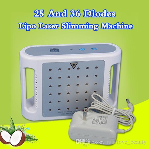 최고의 가격 미니 Lipo 레이저 650nm 파장 Lipolaser 슬리밍 기계 Lipo 지방 제거 기계 가정용