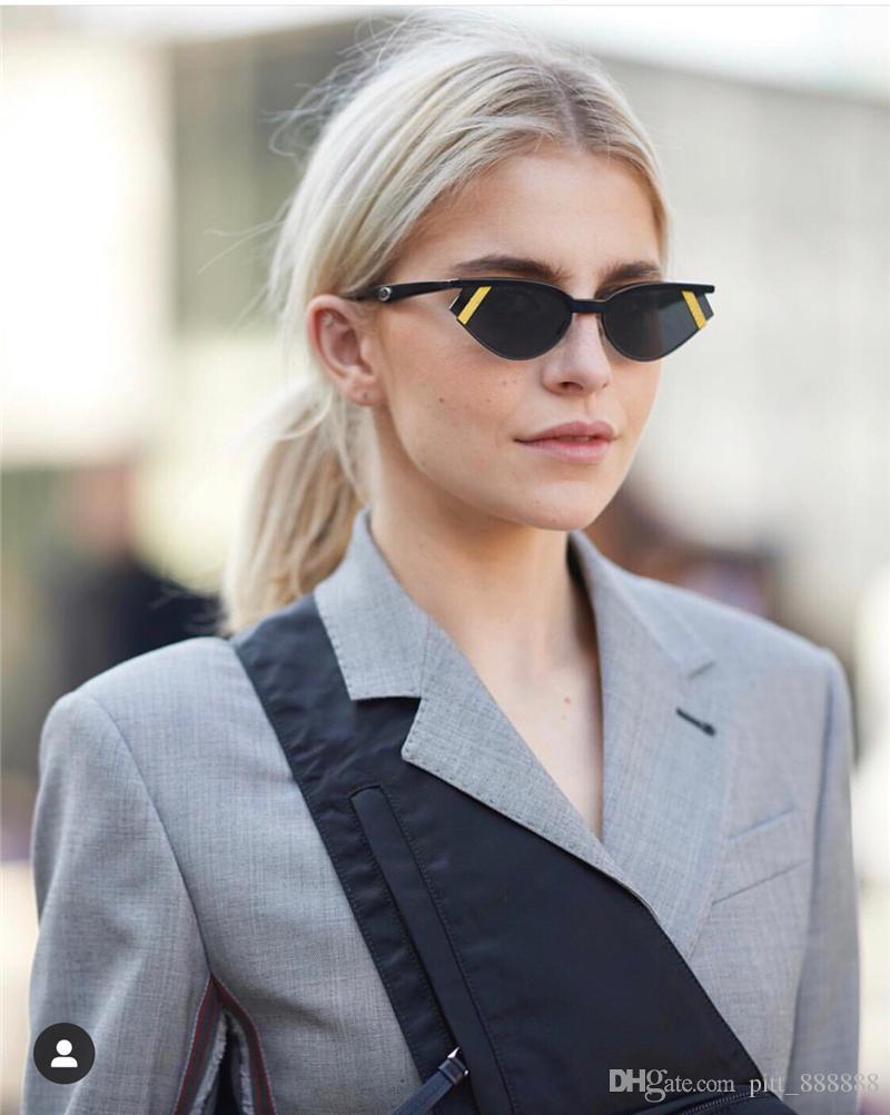 جديدة الأزياء الشعبية عين القط مصمم 0369 النساء نظارات شمس رجل نظارات الشمس حماية من الأشعة فوق مع الاطار الأصلي 369 الأعلى مكبرة الجودة