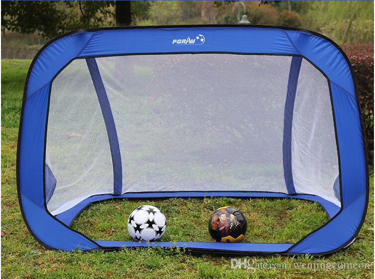 1800*1200*1200MM Foldable Football Gate Net Goal Gate Extra-Sturdy Portable Soccer Ball Practice Gate for Children Students Soccer Training