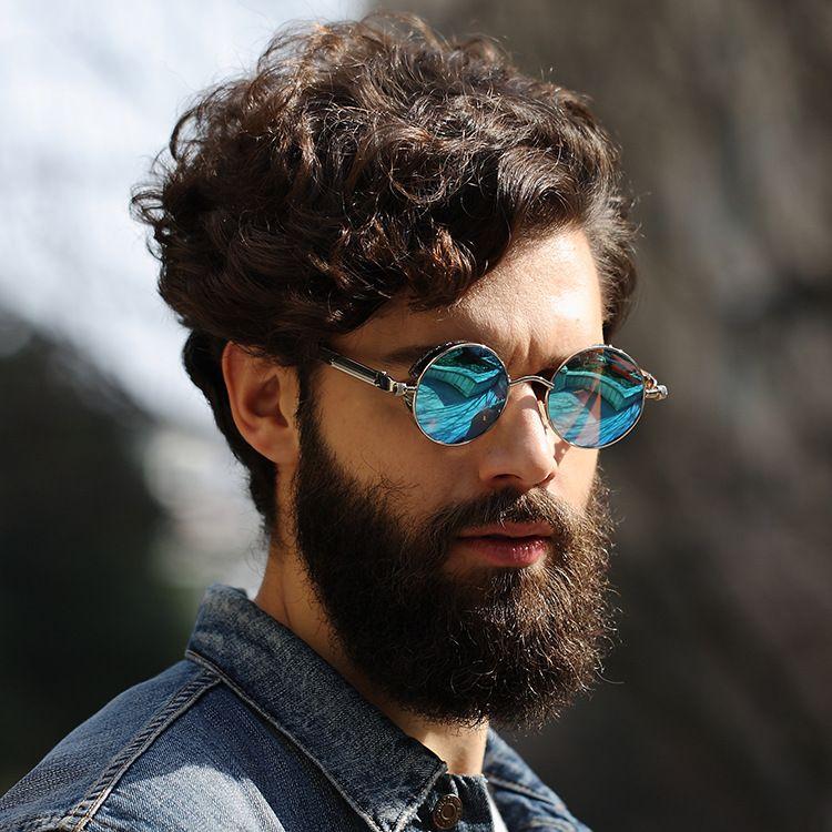 9 Farben polarisierten Sonnenbrillen Full Frame Brille Unisex Sonnenbrille Mode Rund Farbe Film Sonnenbrillen Outdoor Brillen Hot Verkauf