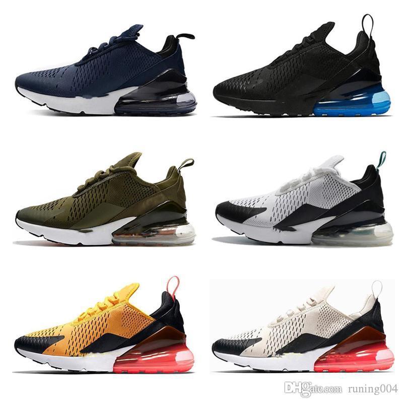 nike air max 270 270s 27c airmax 2019 NOVO Almofada Sneaker Designer calçados casuais instrutor Off Road Estrelas Ferro Sprite tomate Man gerais para mulheres dos homens 36-45