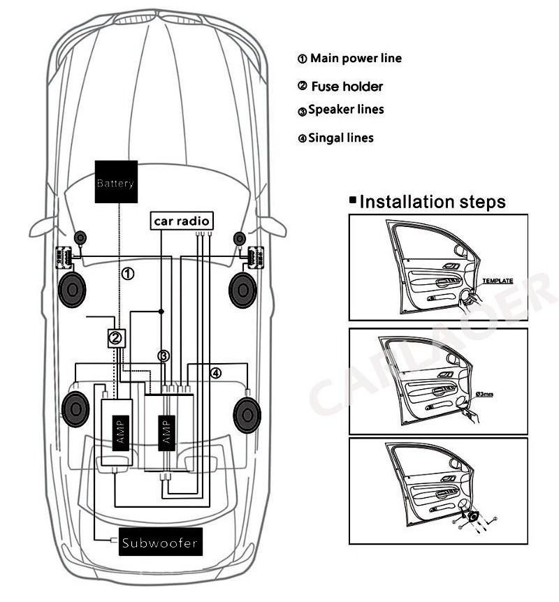 Car speaker - (9)
