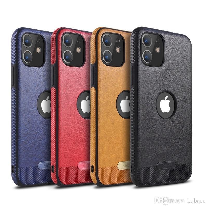 Pour 2019 nouveaux Iphone 11 pro xr x xs max 8 7 6 plus cuir téléphone couverture de cas pour Samsung couture S8 S9 S10 PLUS NOTE 8 9