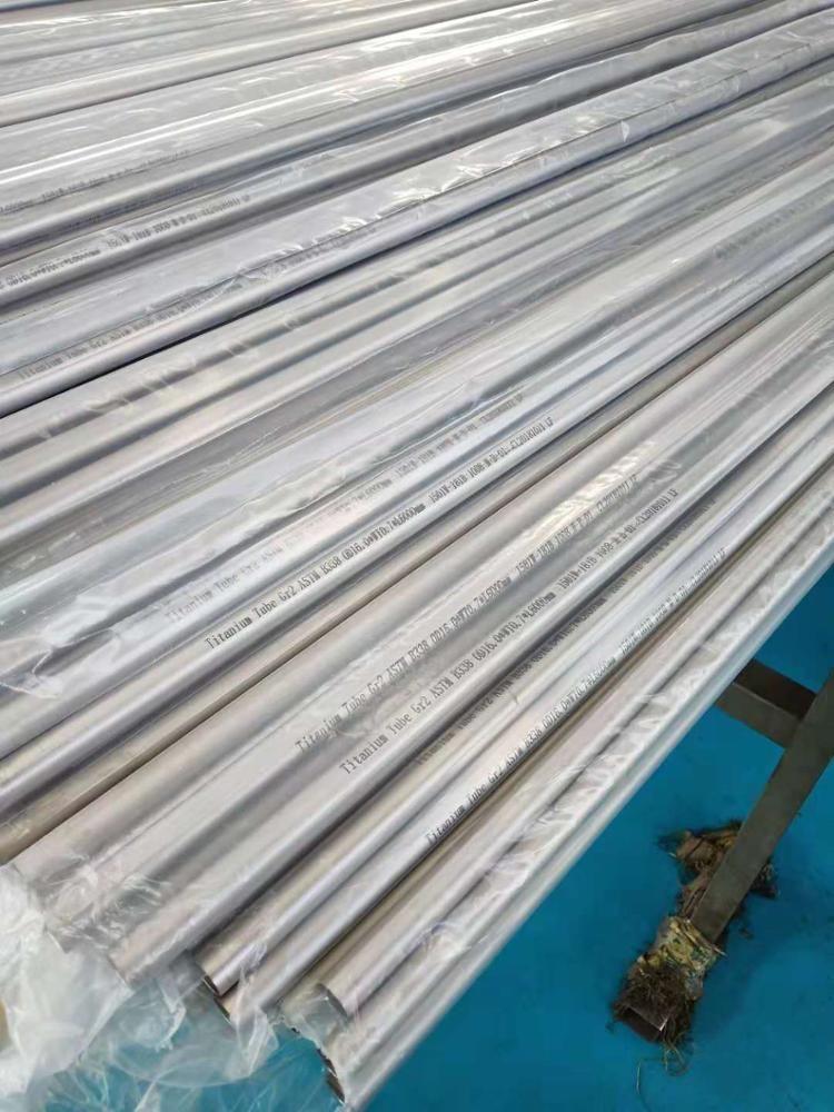 2.5, 3, 3.5, 4 inç en iyi fiyat titanyum gtr egzoz borusu Titanyum Tüpler ve Borular
