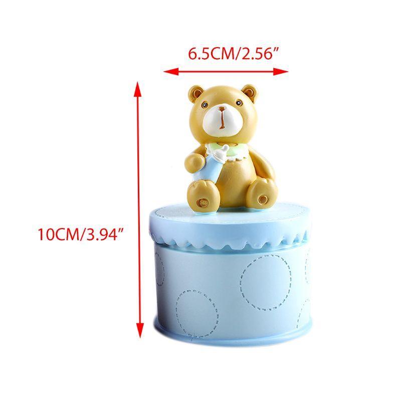 Os dentes de leite de folha caduca Caixa Crianças Lanugo Coleção das caixas de Presentes da lembrança de aniversário criativo para crianças