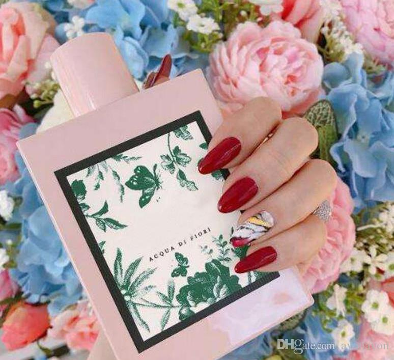 top sale PARFUM 100ml ACPUA DI FIORI Floral green flower perfume for women highest quality long lastimg time fragrance