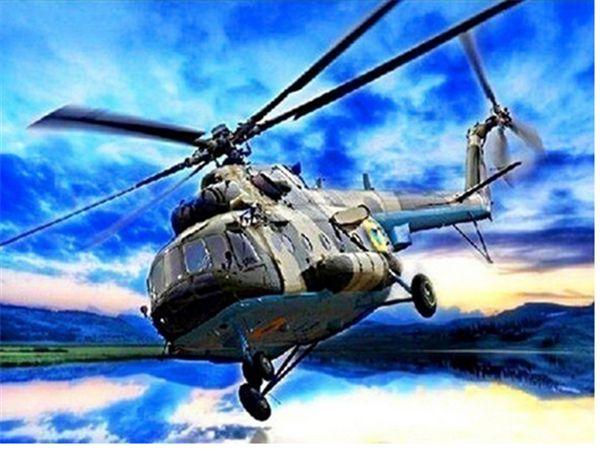 ev 5D diy elmas boyama kanaviçe kiti elmas taklidi tam roundsquare elmas nakış sahne Helikopter mozaik dekor hediye BB0624