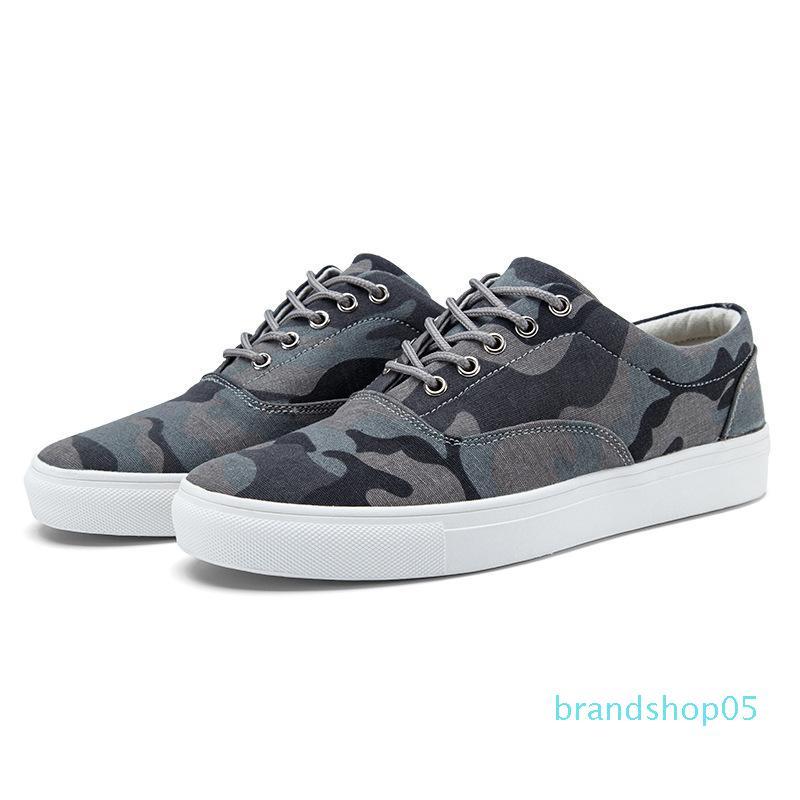 Nuova tela di canapa Shoes personalità Camouflage Tidal Consiglio Scarpe Coppia Tempo libero Panno Gioventù Breath