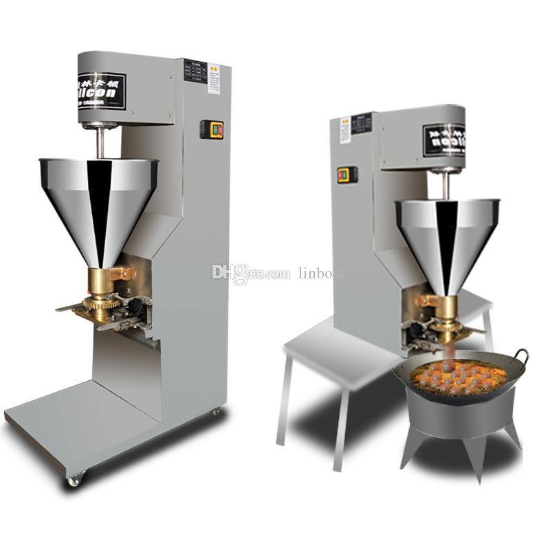 Ticari Elektrikli Otomatik Köfte Şekillendirme Makinesi fonksiyonlu Ev Sığır Balık Tavuk Köfte Makinesi Fabrika Doğrudan Tedarik