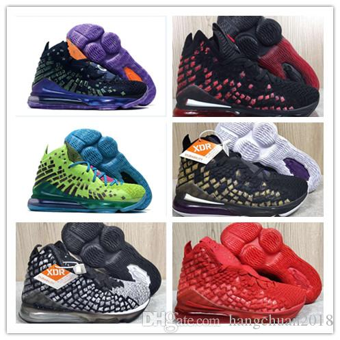 Больше чем спортсмен 17 17s мужская баскетбольная обувь высокое качество будущее 2K глобальная валюта инфракрасный синий ковер Lakeres новые спортивные кроссовки