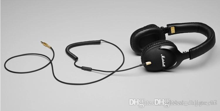 مارشال رصد سماعات مع هيئة التصنيع العسكري العميق باس DJ مرحبا فاي سماعة 3.55MM السلكية سماعة أزياء سماعة سيارة 005