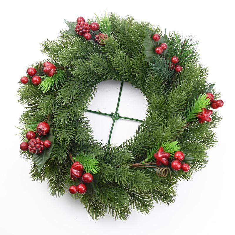 rtificial plantas 10pcs plantas artificiais de plástico Pine árvore de Natal guirlanda caixa de doces presentes DIY scrapbooking casa casamento decoração acc ...