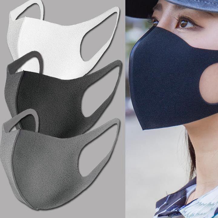 Stokta var !! Nefes Maskeleri Anti Toz Solunum Maskesi Toz Geçirmez Toz Maskesi Yıkanabilir Kullanımlık Solunum Maskeleri EEA1345-66