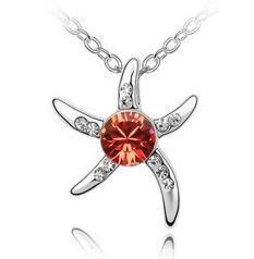 Мода-ожерелье австрийский хрусталь ювелирных изделий Посеребренная инкрустированные Алмазный Изысканный New Designs ожерелья для женщин Рождественский подарок