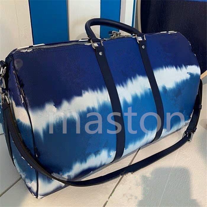 2020 Эскаль кожаная дорожная сумка сумки спортивный костюм сумка Keepall BANDOULIÈRE кожаные дорожные сумки Keepall 50 сумка багаж сумку 0002db4#