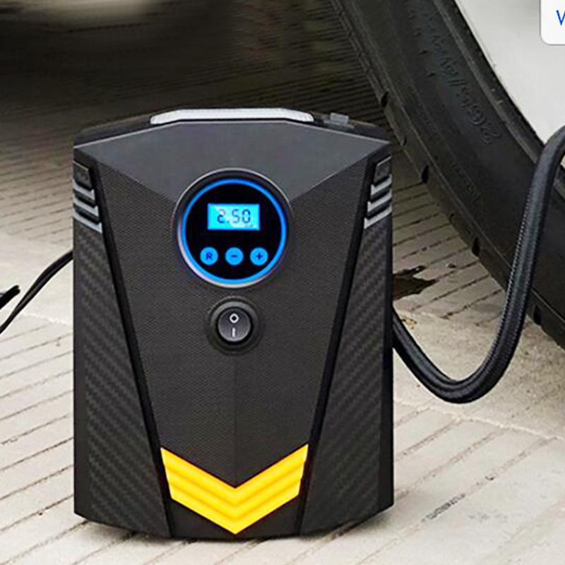 Digital Car Tire Inflatable Pump illumination Auto Air Compressor for Cars Wheel Tires Electric 12V Tyre Inflator
