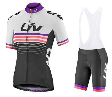 2020 Liv Nouveautés Femmes Cyclisme Maillots Set à manches courtes Vêtements Vélo rapide à sec Vêtements de vélo Ropa Ciclismo