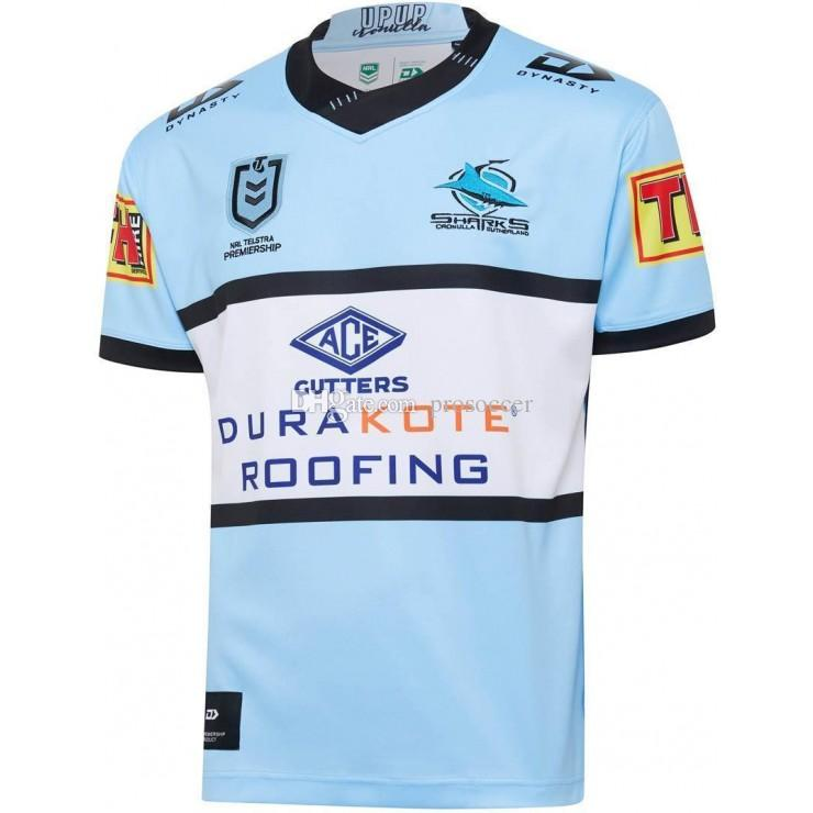 Cronulla Sutherland Sharks 2020 Adultos Super Rugby Camiseta Camiseta Maillot Camiseta Maglia Tops S-5XL Kit Trikot