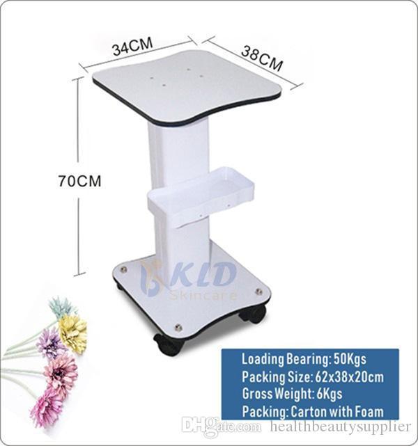 캐비테이션 RF 뷰티 슬림 기계 / 하이 드라 페이셜 스킨 케어 아름다움 기계에 대한 BSET 품질 스탠드 트롤리 카트를 조립