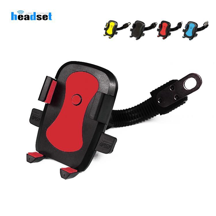 Motocicleta Phone Holder Electromobile Motor Mount suporte do telefone 3.5-6.5 polegadas para bicicletas elétricas carros motocicletas