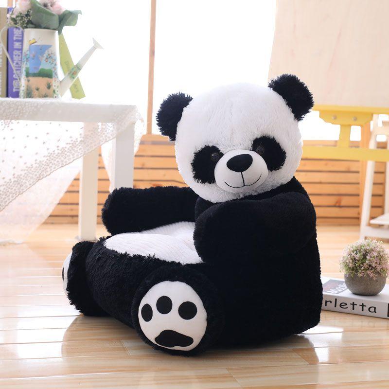 Çocuklar Koltuk Sandalye Peluş Oyuncak Koltuk bebek yuvasının Duck Çizgi Güzel Oyuncak Ayı Panda Unicorn Yetişkin Yastık Doldurulmuş Yastık yatak uyku
