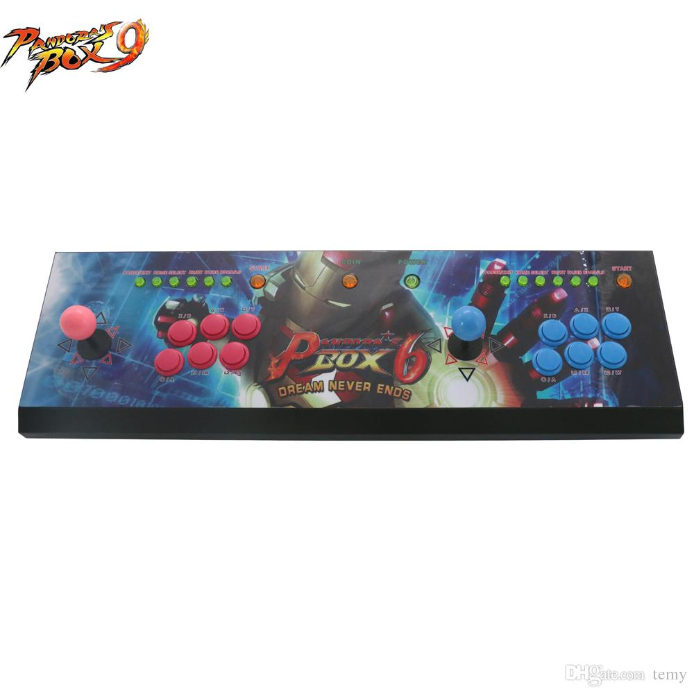 New products Double joystick game console with Pandora Box 9