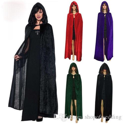 Por encargo Bridal Wraps poncho rojo con capucha vestido largo abrigo largo manto de lana manto nuevo vestido divertido