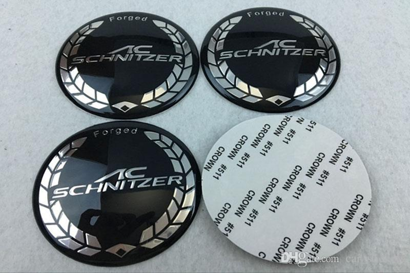 65mm ac schnitzer Wheel Center Hub Caps Car wheel Emblem Badge covers For BMW all serivce accessories Car styling