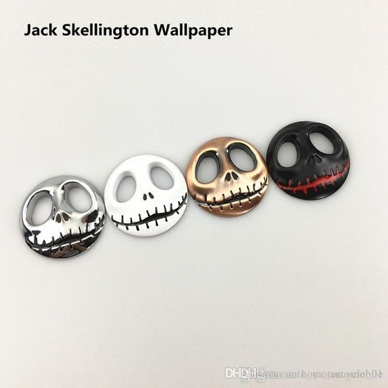 Dell'automobile di personalità del cranio di Halloween Jack standard metallo Pumpkin King Car Body Stickers Adesivi Tail Decoration Etichettatura