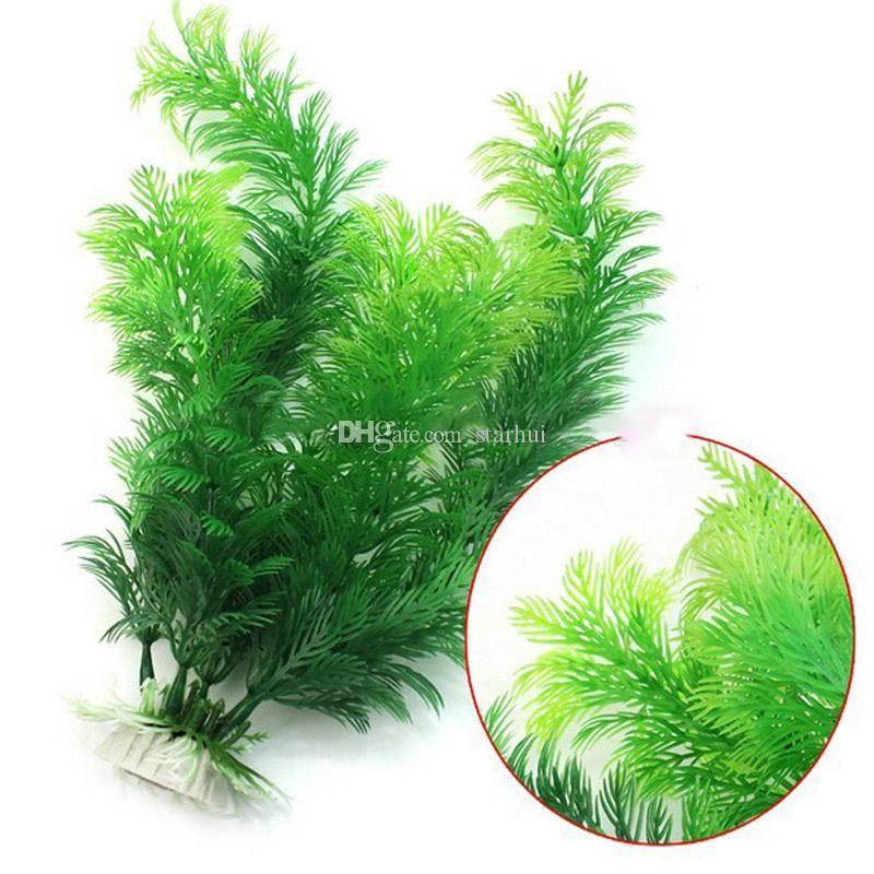 30 centimetri di simulazione piante acquatiche di acqua vaniglia acquari erba decorazioni serbatoio di pesce landscaping erba artificiale decorazione plastica WX9-1260