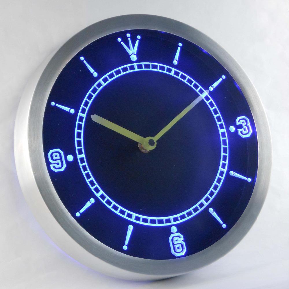NC-TM مخصص ضوء النيون Signss بقيادة ساعات ضوء النيون ساعات CJ191214