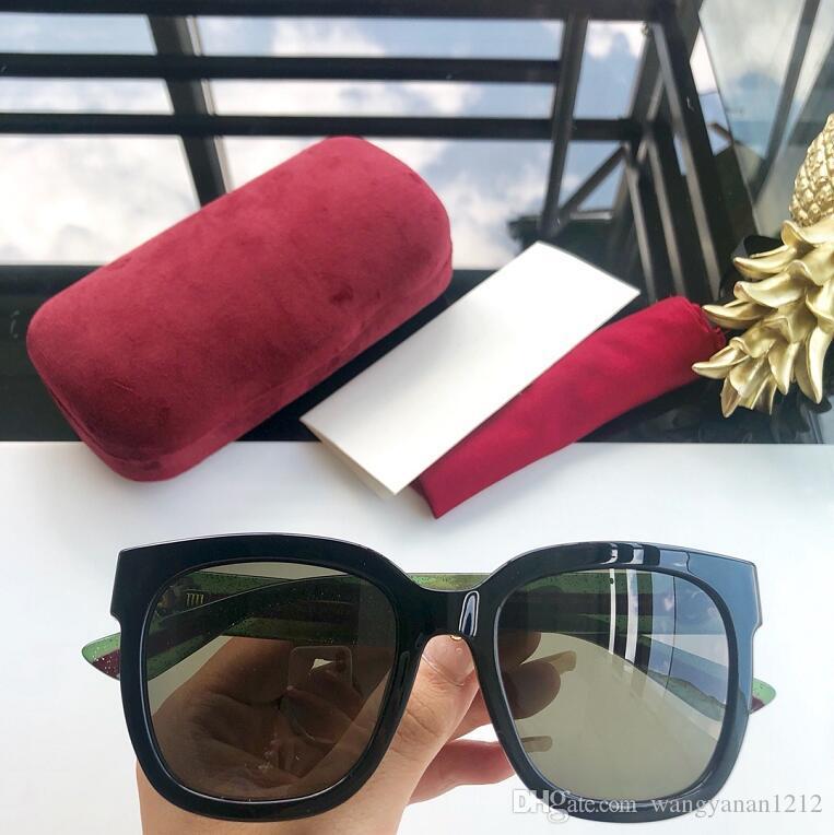Últimas Mujeres Fashion Popular 0034 Venta de gafas de sol para hombre Gafas de sol Hombres UV400 SOL DE GAFAS CON CAJA DE CALIDAD CAJA DE CAJA GLASSE QVSHK
