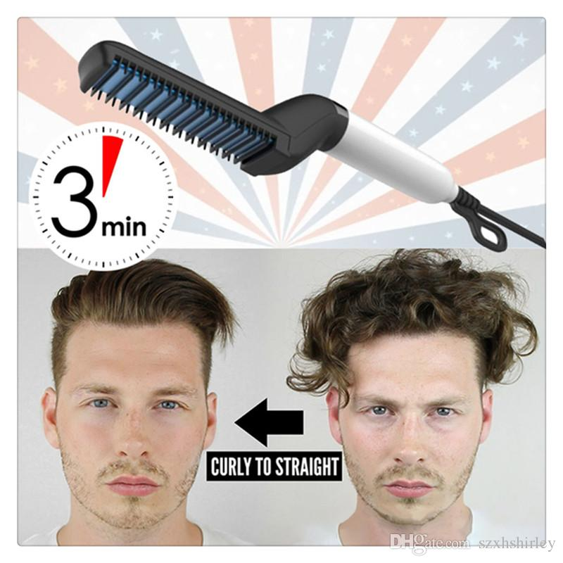 Haare glatt machen männer