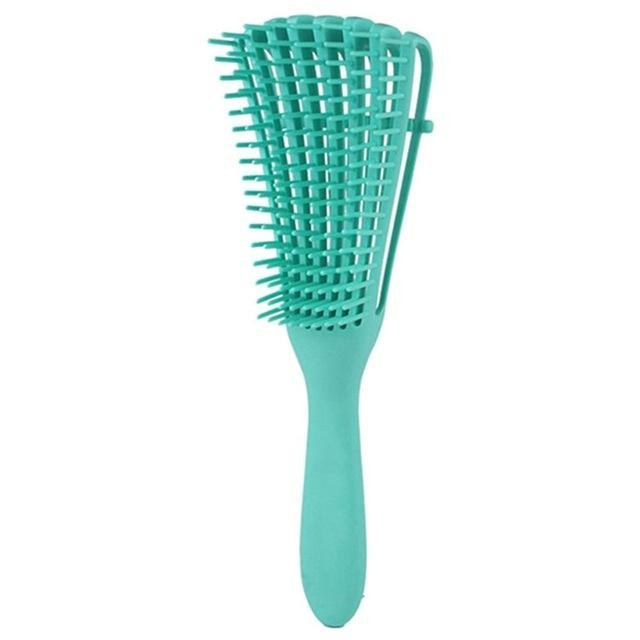 Kadınlar Erkekler Salon Saç Detangler saç fırçası için Kıvırcık Saç Tarak için Cepillo para el Fırça Saç Derisi Masaj Tarak Dolaşık Açıcı Fırça