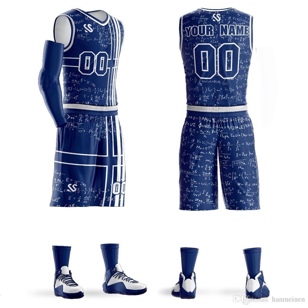 Özel Erkekler Gençlik Basketbol Forması Üniformaları Takım Spor Eşofman Giysi Öğrencileri Eğitim