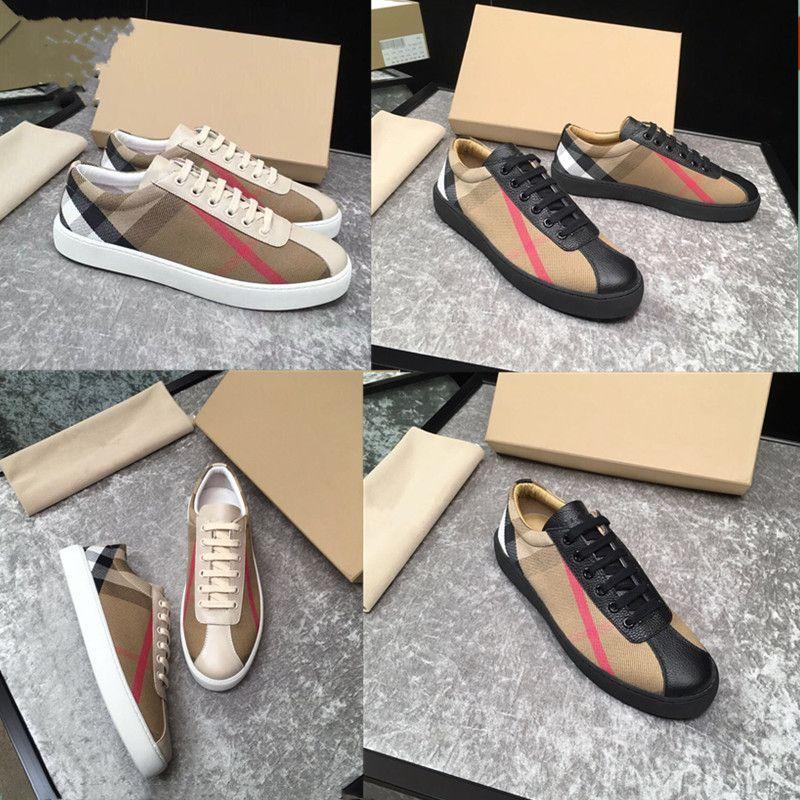 2020 Erkek Tasarımcı Moda Gelişmiş Kılavuzu Ayakkabı Marka Deri Dantel-up Casual Flats Görüntü Hareketi Ayakkabı Boyutu 38 ~ 45