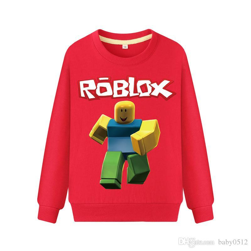 2020 Roblox Clothing Boys Sweatshirts Baby Girls Designer Hoodies