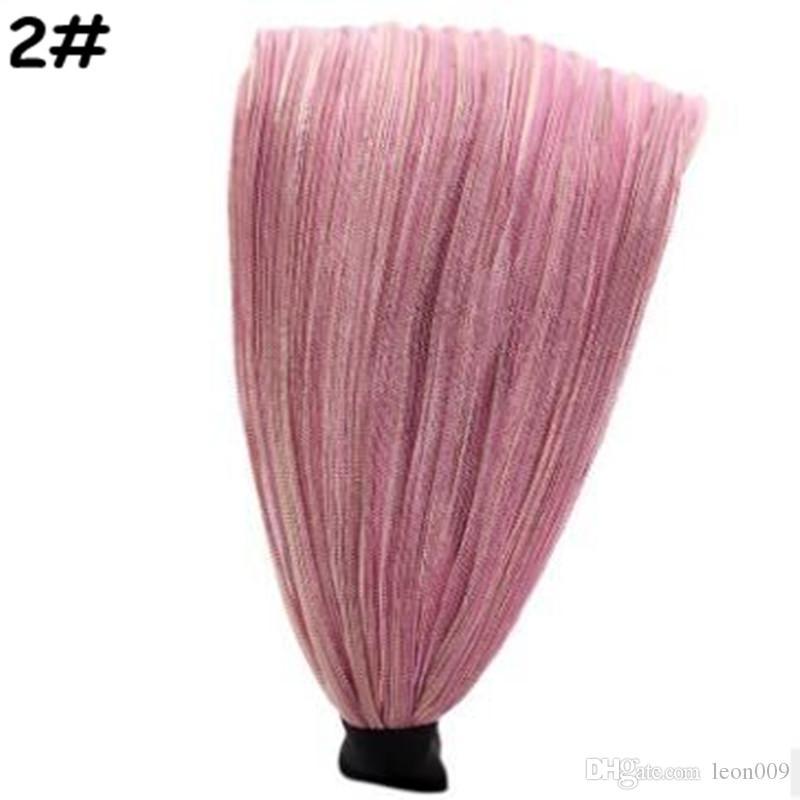 Women Wide Fabric Headband Dance Headband Adjustable Stretch Hairband Lace Hair Bands Elastic Hair Band Turban Head Wear