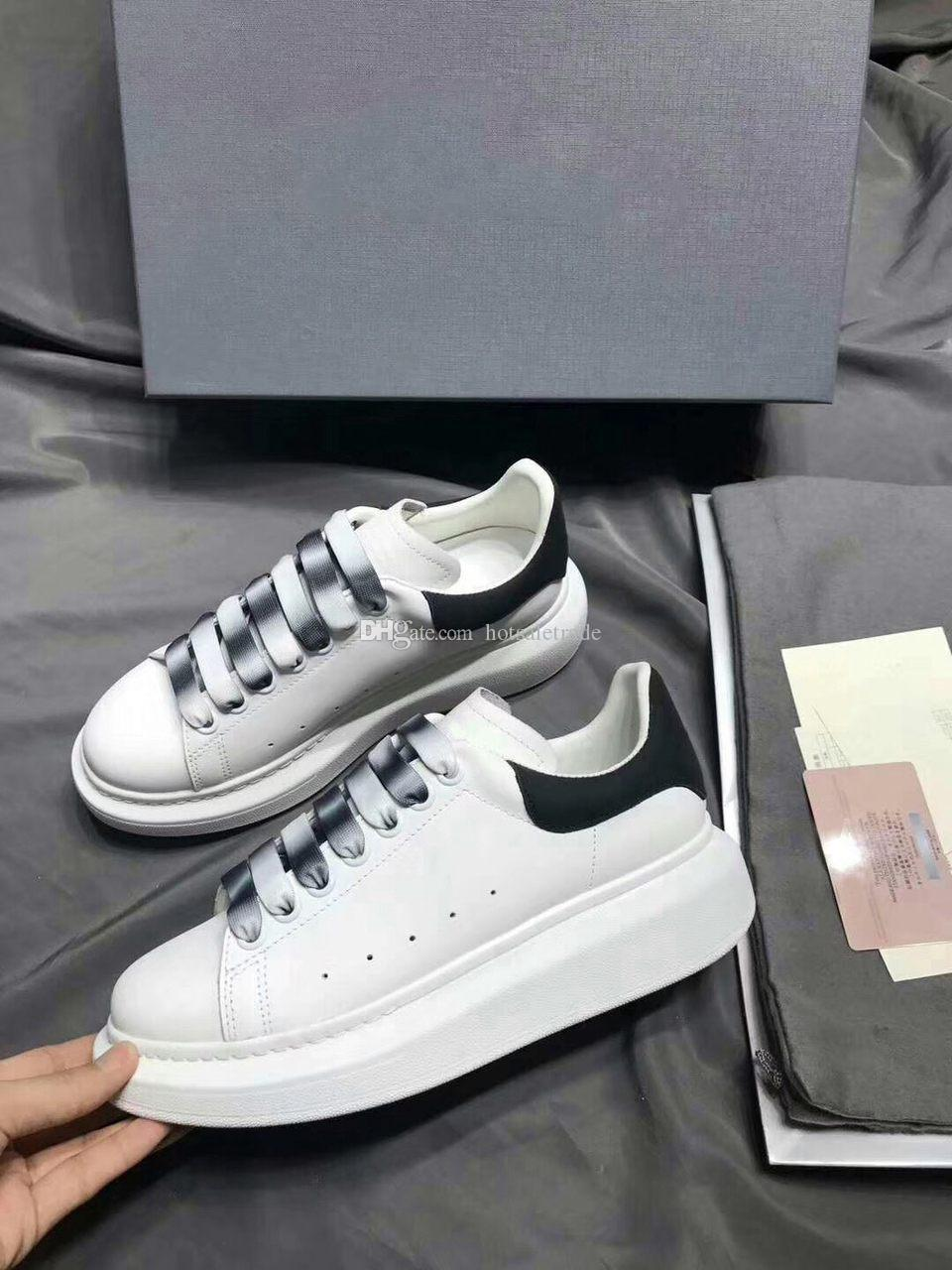 가죽 캐주얼 신발 새로운 색상 레이스 업 벨벳 CHAUSSURES 스니커즈 플랫폼 신발