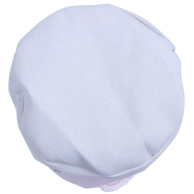 35 * 40cm Rosa cesta de lavanderia para roupas de algodão sujos Ballet menina Bow Imprimir Brinquedos Organizador Início Organização de armazenamento (A)